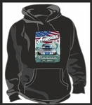 KOOLART AMERICAN MUSCLE CAR Design For Retro Ford Shelby Mustang Unisex Hoodie